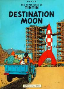 TINTIN Destination Moon. By Herge