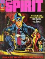 Cover of Will Eisner's The Spirit, as published by Warren Publishing